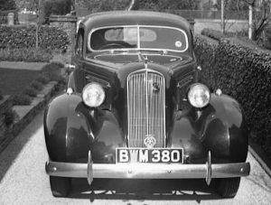 Where Did Pensions Come From - 1936 Studebaker