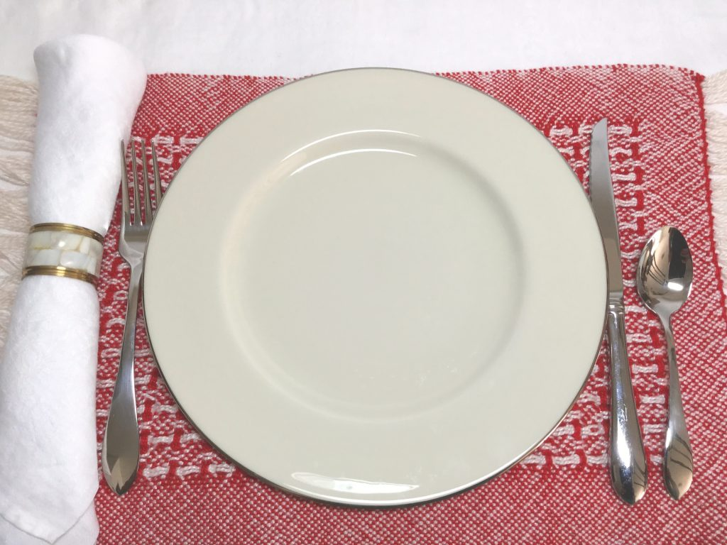 Cloth Napkin - Worth the Switch from Paper Napkins by Dinner Plate - Living Healthy Wealthy and Wise