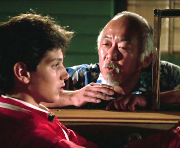 Mr Miyagi - The Karate Kid - When all of life has a balance, everything will be better - Living Healthy Wealthy Wise