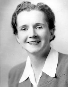 Organic Food - The History of Pesticides - Rachel Carson - Fish and Wildlife Service Employee Photo (1940)