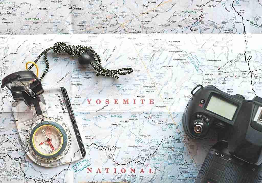 Orienteering Compass and Map - Orienteering - Living Healthy Wealthy Wise
