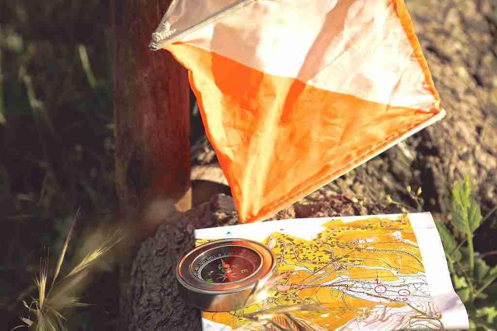Orienteering Marker and Map - Orienteering - Living Healthy Wealthy Wise