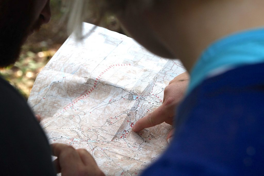 Reading a Map - Orienteering - Living Healthy Wealthy Wise